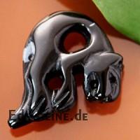 Schneeflocken-Obsidian Panther