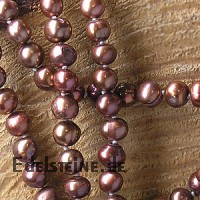 Pearl necklet red