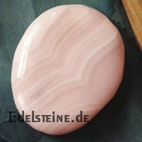Mangan-Calcit Chakrastein Mangano Kalzit A Flacher Edelstein 30/45mm