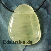 Calcite yellow pendant A-quality