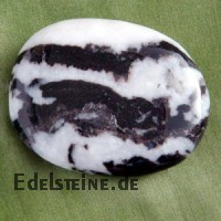 Zebra-Marmor Seifenstein