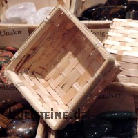 Baskets bamboo angular 100 pcs