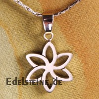 Steel Pendant Flower 08