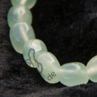 China Jade Trommelstein - Armband