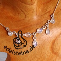 Moonstone Silver- Collier 5