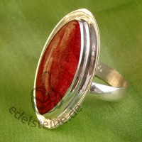 Red Coral Ring 3