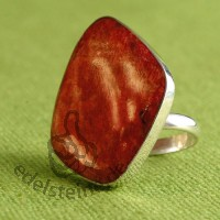 Red Coral Ring 4