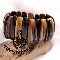 Tigereye - onyx bracelet big