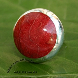 Red Coral Ring 1