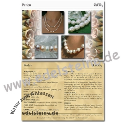 Perlen Edelsteinkarte 100 Stück