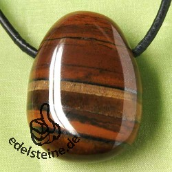 Tiger`s eye Tigeriron Pendant Big A Quality