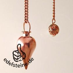 Pendulum coppercoloured round 1