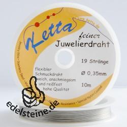 Jewellery Wire 0,35/19 from Ketta