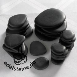 Hot Stones Massagesteine, Komplettset