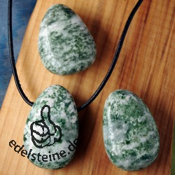 Tree Agate Pendant Big 3 pieces