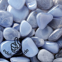 Chalcedony blue handstones 0,5 kg A-