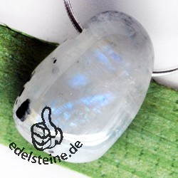 Moonstone Rainbow Pendant BIG