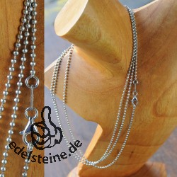 Stainless steel necklace KEKU 42 cm set