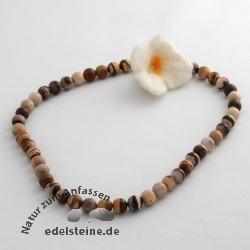 Gemstone-Beads, Cappuccino-Jaspis 8 mm