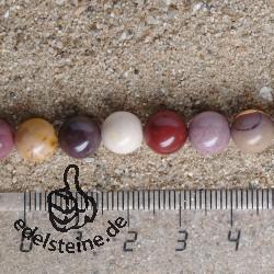 Edelstein-Perlen, Mookait 8,5 mm 40cm A