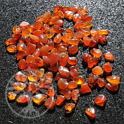Carnelian Mini Tumbled 3-8mm, 1 KG Small Carnelian tumbled stones