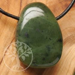 Nephrit Jade Anhänger A 20/30mm Jadestein Anhänger