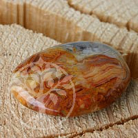 Crazy Lace (Agate) Flat Tumbled Stone Gemstone