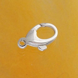 Karabiner, oval, 6,5 x 13,5 mm klein, Silber 925 Baloon