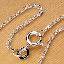 Marine Silver Chain 36cm Children-neklace anchor round1.5mm