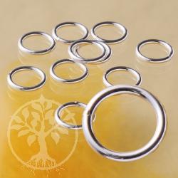 Bindering geschlossen 7.0x1.0mm Verbindungsring Silber 925