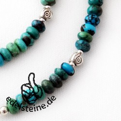 Turquoise Lens Necklace