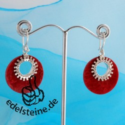 Coral Earrings 6