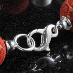 Snap Hook Silver, Infinity about 20mm Sterlingsilver