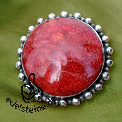 Red Coral Ring 11