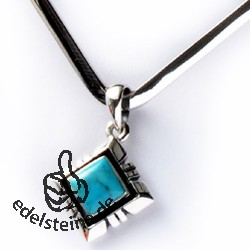 Turquoise Silver-Pendant square 5