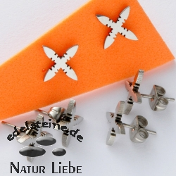 Stainless Steel Stud Cross 2 - 3 pieces