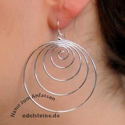 Silver Earring SIOH28