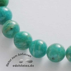 Gemstone-Beads, Amazonit 8 mm