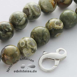 Gemstone-Beads, Rhyolith 12 mm
