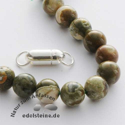 Gemstone Beads Rhyolite 8 mm
