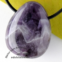 Amethyste Pendant Dog Teeth AA-quality