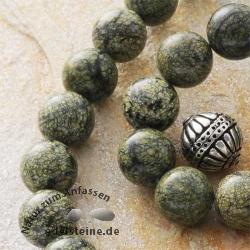 Edelstein-Perlen, Schlangenhautjaspis, 12,5 mm