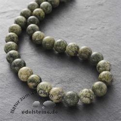 Edelstein-Perlen, Schlangenhautjaspis, 10 mm
