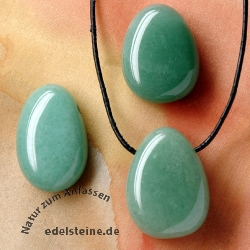 Aventurine pendant BIG 3 pieces