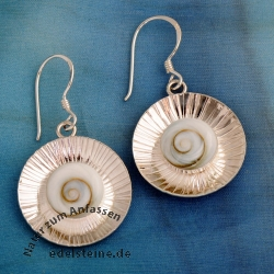 Shiva-Shell cap earrings SHCOR01
