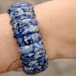 Fleck-Lapislazuli Armband
