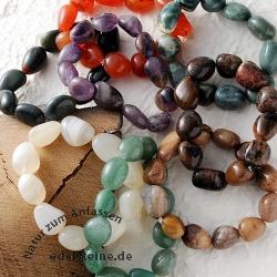 Bracelet-Set Tumbled Stones 50 pieces