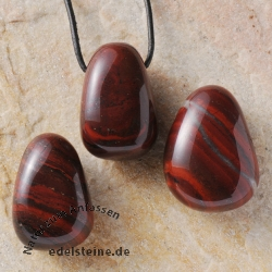 Red Jasper Pendant 3 Pieces
