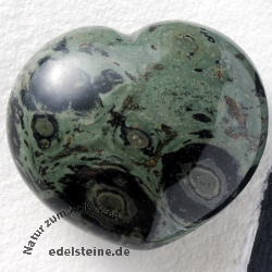 Eldarite Heart Hand Stone Kambaba Jasper