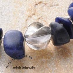 Silberperle Windrad Handgefertigt Silber, 15 mm